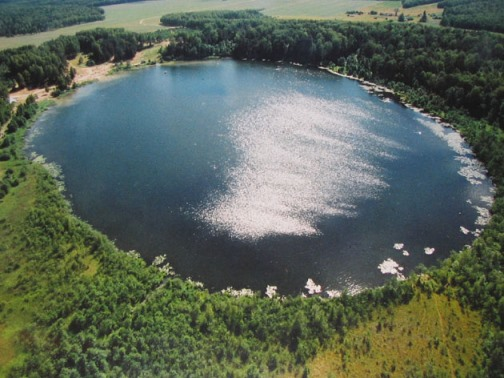 Lake Svetloyar,Nizhny Novgorod Oblast, Russia