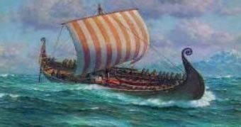 Artist Rendering of Prince Madoc's Ship