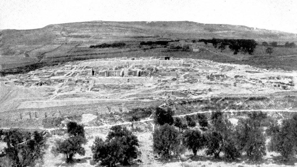 Dark Ages Crete Ruins