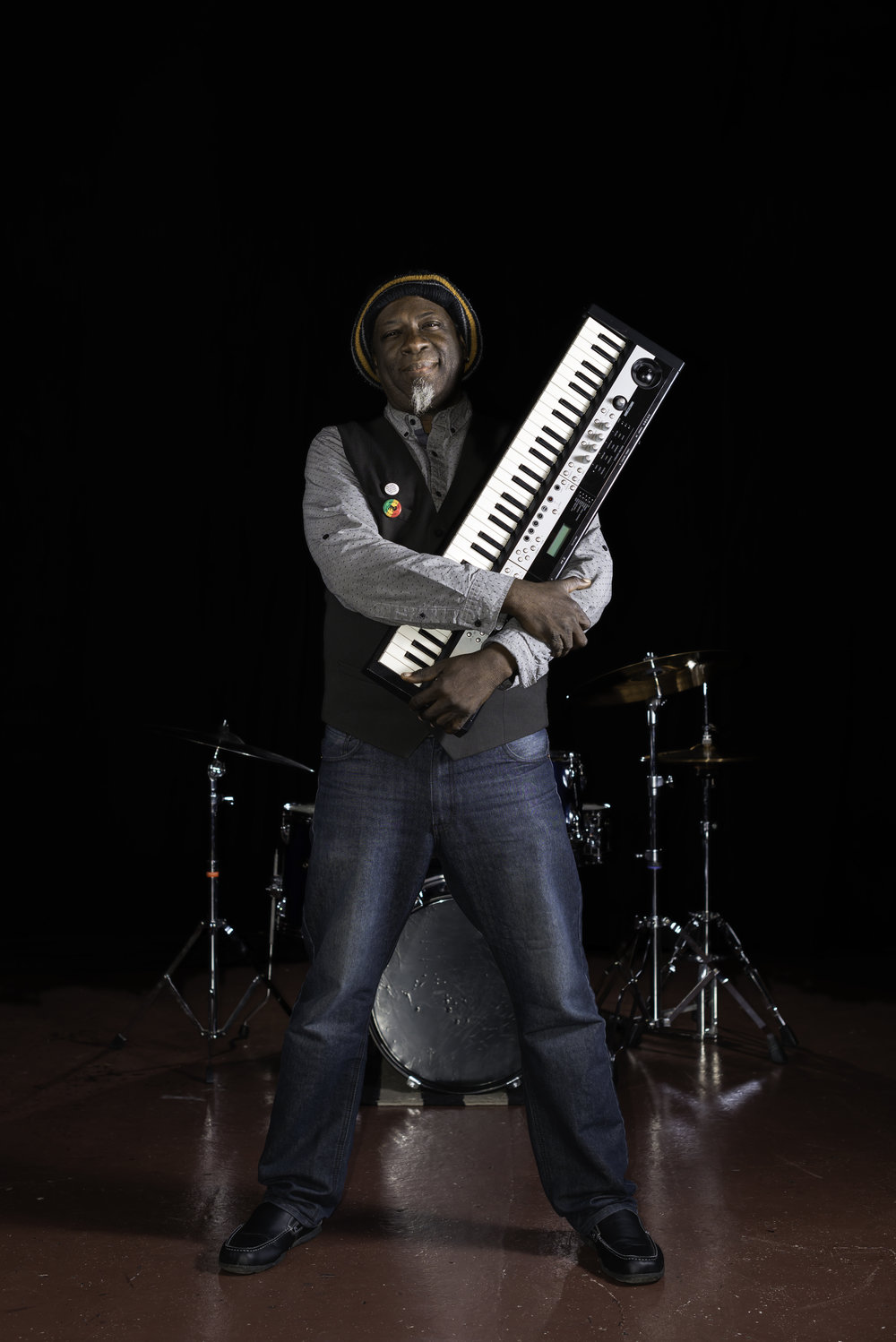 Curtis Seals - EXCERPTS FROM AN INTERVIEW IN MAY 2016 ISSUE OF COOL M'FCKAON MUSICAL INFLUENCES:i've always loved music and the arts.when i was a kid, i'd ask my dad about what instruments were playing, and he would point out the guitar and drums, stuff like that... in my grandfather's church, my uncle warren played organ and piano... his right arm was withered, so he played with just his left hand and held it down... really dug what he was able to do... loved the big church musicals, with all the pomp and hype happening... my ears were always attuned like that... i loved tv theme songs. a lot of the westerns had some cool music happening... the old wyatt earp show had a male quartet singing and humming, which i thought was kinda cool... everything was fair game... the radio played everything from james brown to sonny and cher... the music was constantly changing... i grew up in the 60s and 70s so the music and culture were expanding... i was hearing the gospel my mom would play on sunday mornings when we were getting ready for church, the bluesy soul stuff that my dad liked, bobby blue bland, joe tex, wilson pickett... my teenage years were kool and the gang and earth, wind, and fire... hendrix blew everybody's mind, i loved the rock at the time... bands like the james gang, mountain, cream... real funky... of course, parliament-funkadelic was it for me... then jazz-rock came in...