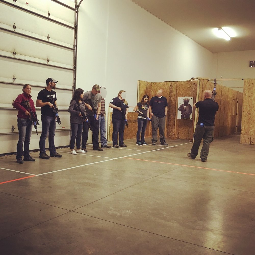 Knowledgable instructors. Relevant courses. - We understand the importance of quality instruction, which is why we strive to bring relevant courses from qualified instructors to give armed citizens every advantage they can get to win the fight. From basic introductory classes to advanced tactics, DAC offers a wide selection of classes to improve your self-defense skillset. We also understand that everyday life can limit the amount of resources, whether time or financial, available to devote to training. We do our best to keep tuition low as well as offer shorter, specialized clinics in addition to full classes for those with time restrictions to work on specific skills.In addition to full classes and clinics, DAC partners with high quality instructors to put on special training events and programs. Check the interactive calendar to see upcoming events and classes.