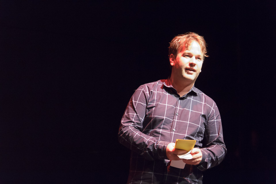 Mike Birbiglia. 2016.  photo credit:    Chelsea Petrakis
