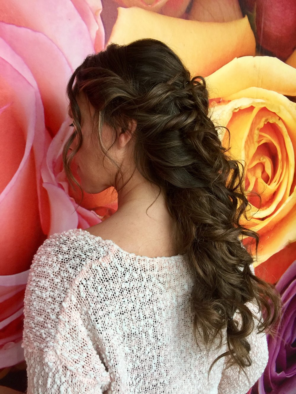 NataMakeUp - coiffure dame - Chignon