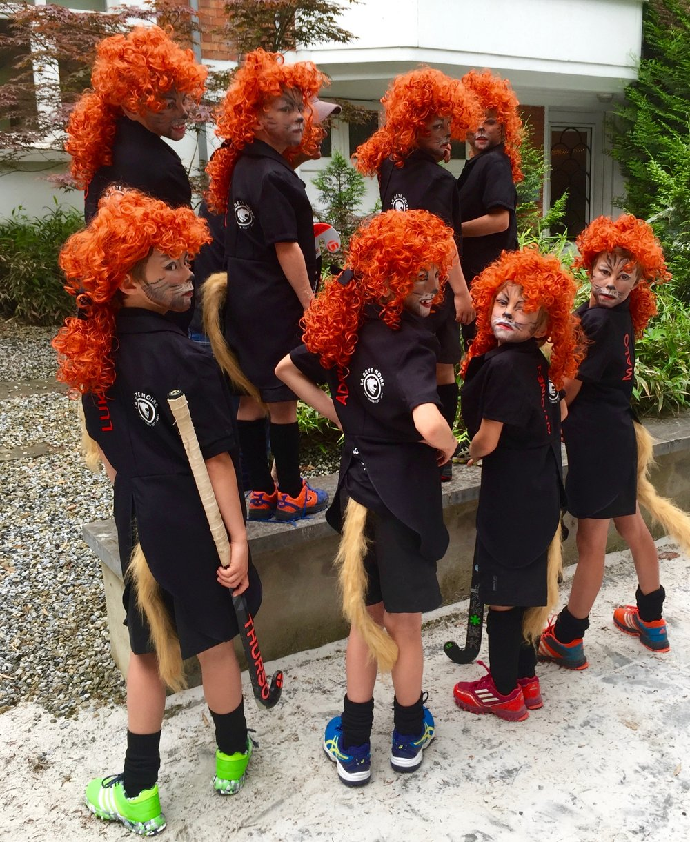 NataMakeUp - Grimage enfant - lions - hockey