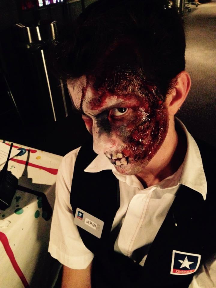 Halloween Imagibraine Makeup artist