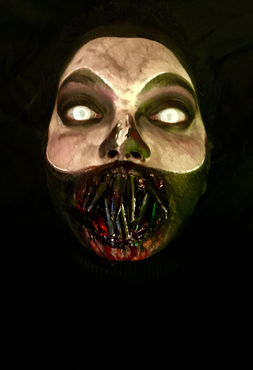 Halloween makeup Me my self and i