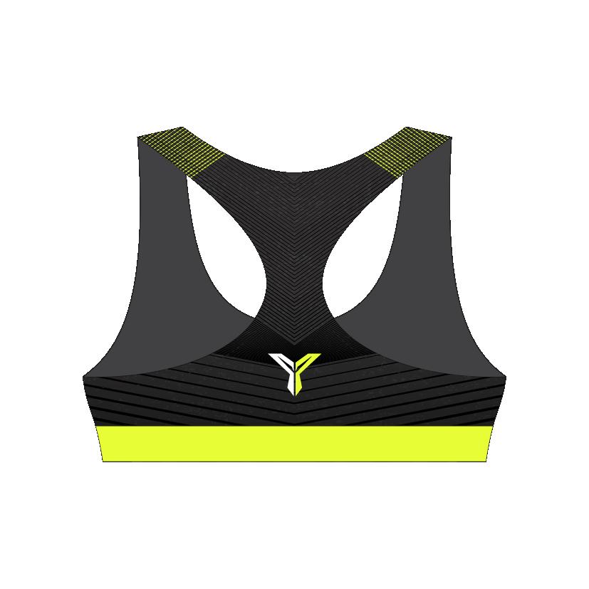 有乐跑运动胸罩 (背面)