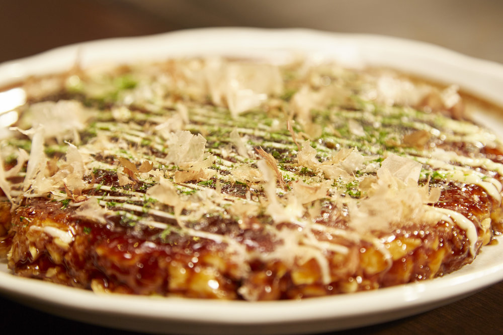 Okonomiyaki (Japanaese Pancake)