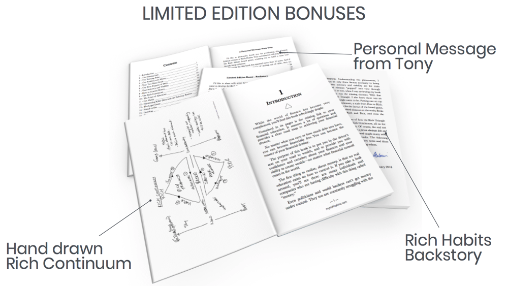 Rich habits Limited Edition Bonuses DEmo.png