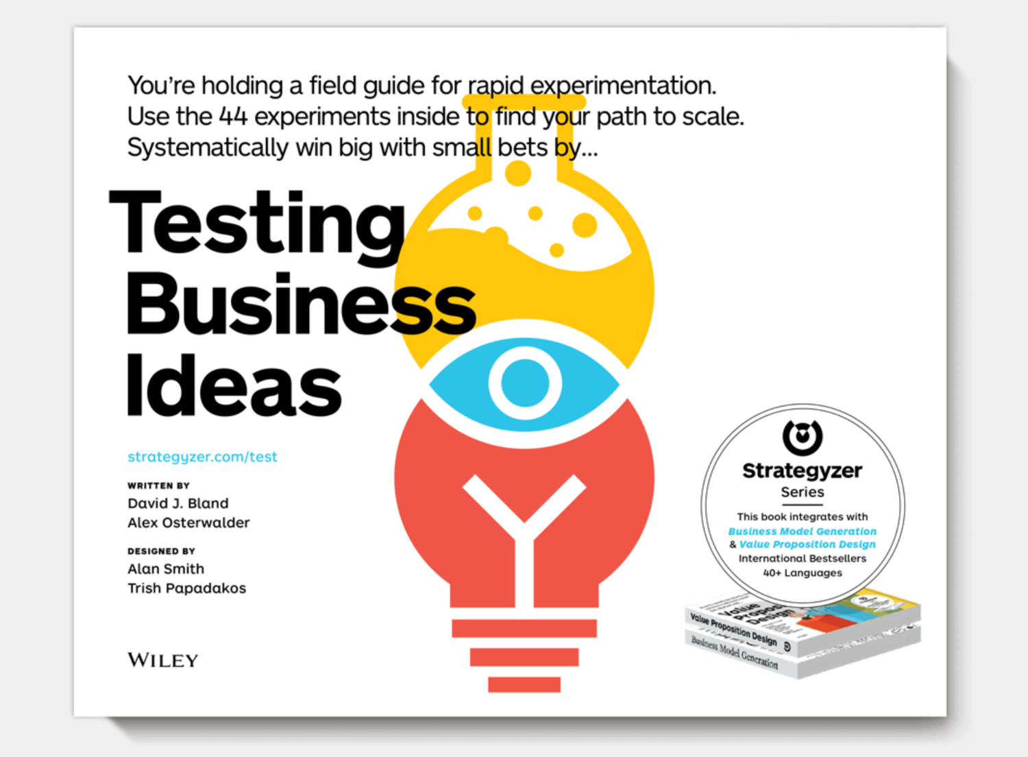 David J. Bland - Testing Business Ideas book cover