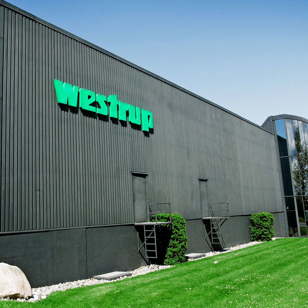 Name change to   Westrup A/S