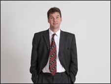 Professor Hart as The Hip Doctor