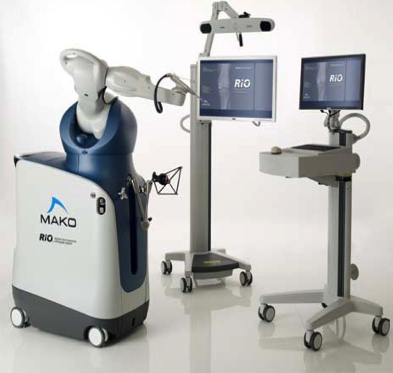 - MAKO Robotic Interactive Orthopaedic Arm