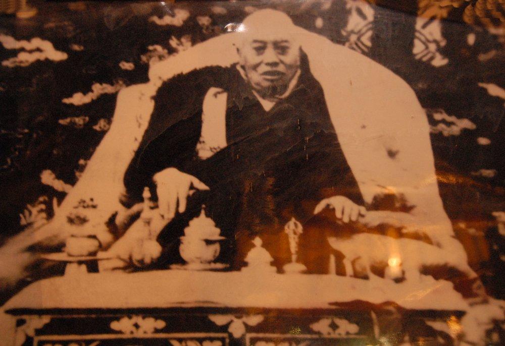 The 8th Kyabgon Drukpa Choegon Rinpoche in Lippa Monastery.jpg