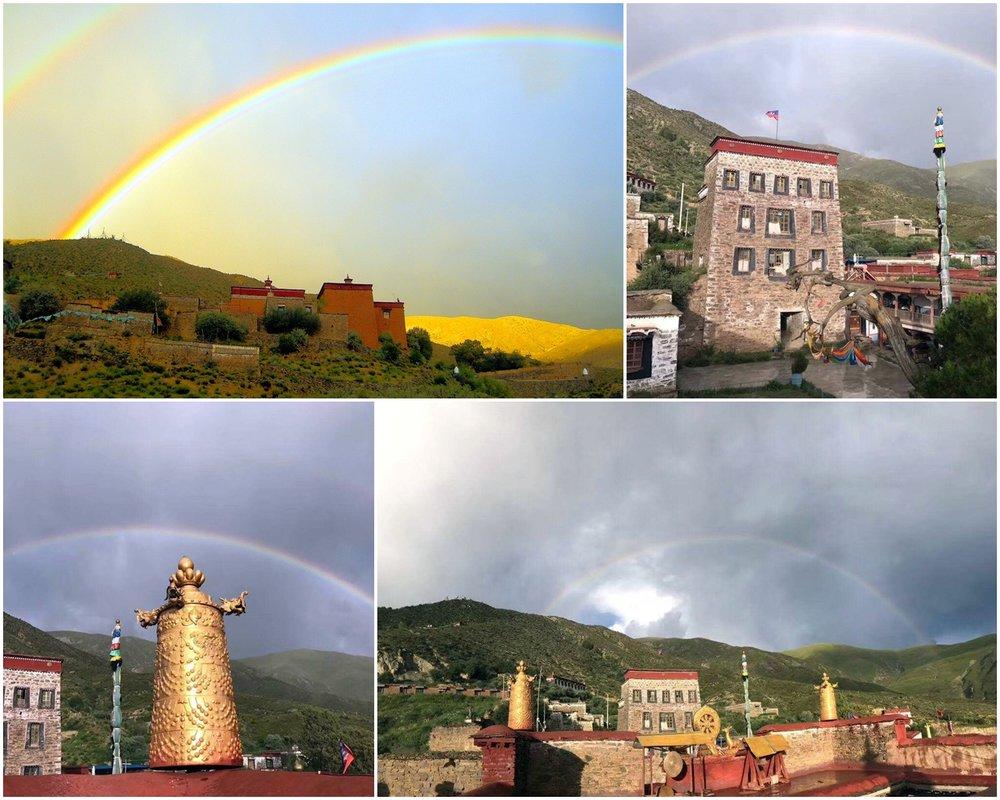 Druk Dechen Choekhor Ling at Gongkar, Tibet.