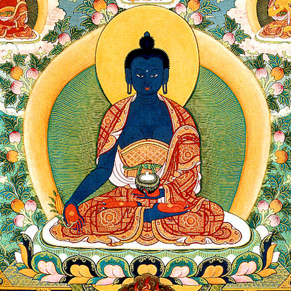 Buddha Medicine Prayer - Buddha Medicine, Sangye Menla in Tibetan, helps pacify sicknesses related to both physical and mind …