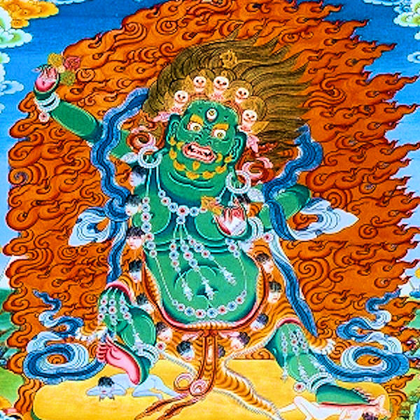Dorje Namjom Mantra - Dorje Namjom, the Supreme Destroyer, Vajra Vidharana in Sanskrit, is a tantric deity for cleansing and purification …