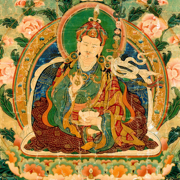 Guru Rinpoche Seven Lines - This Seven Vajra Lines is the most majestic of all prayers to the great and glorious one of Oddiyana …