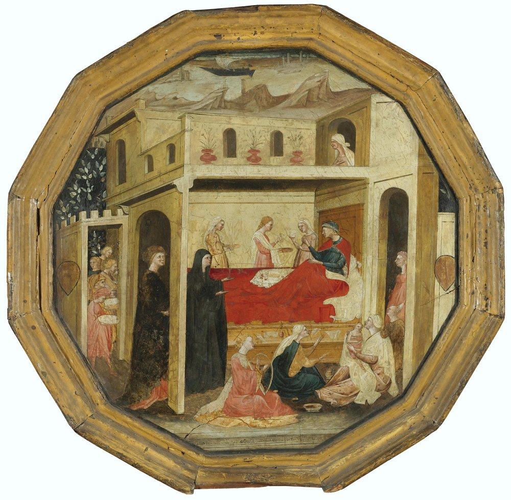 An Italian Birthing Tray