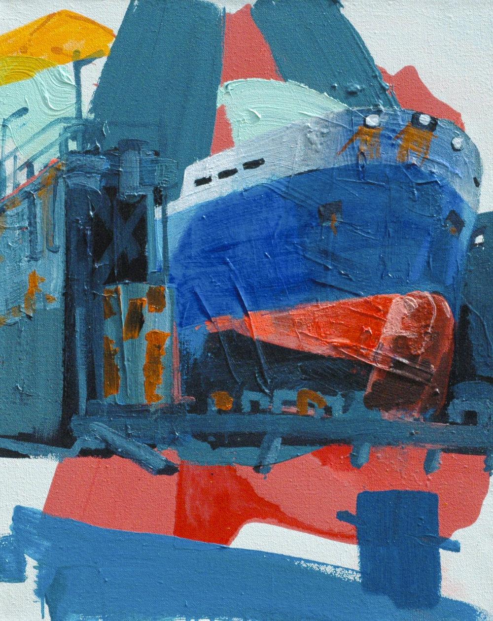 Rotterdam Drydock #2_80 x 65 cm_Acrylicpaint emulsion on Canvas_Hagens2015-2.jpg