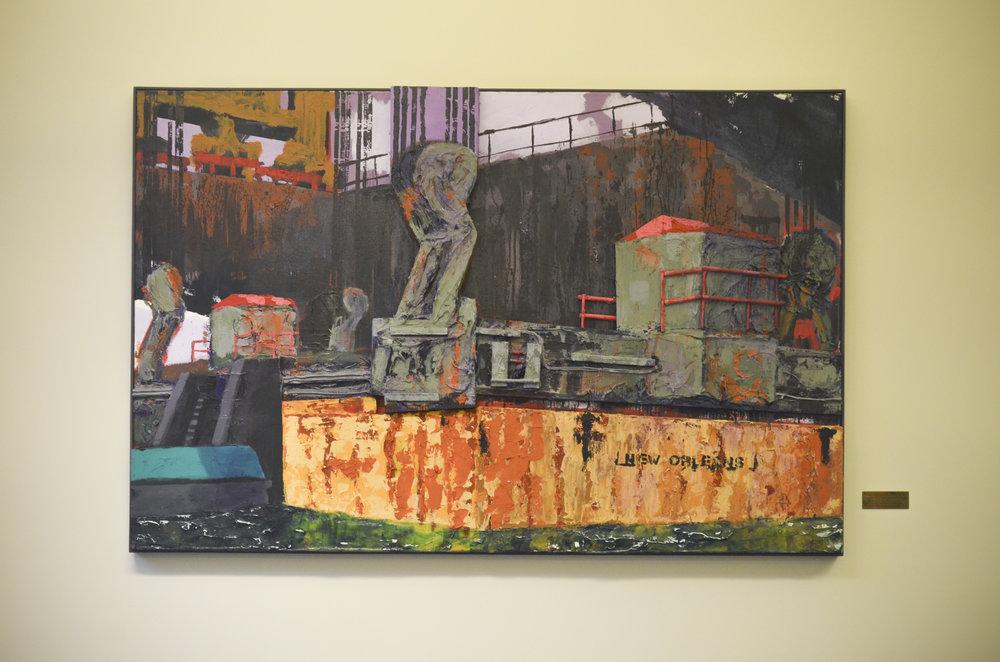 Stadhuis Rotterdam 003 | Shipping for New Orleans | Sasja Hagens | Lisa Diederik.jpg