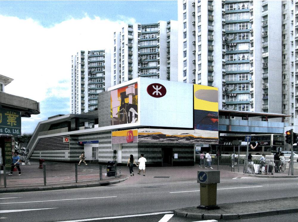 Artist impression | Whampoa Station Hong Kong | Sasja Hagens
