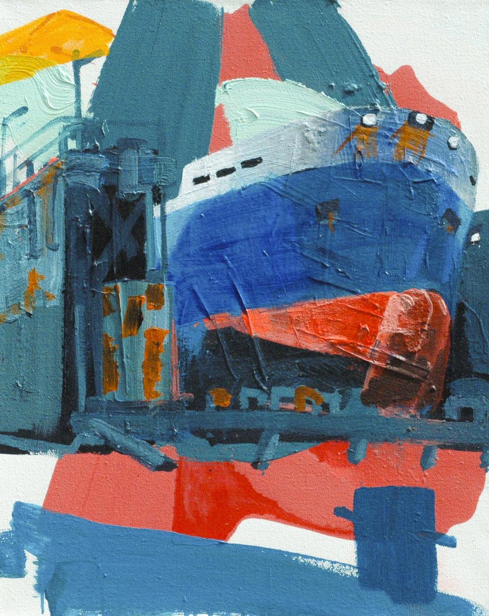 Rotterdam Drydock #2_80 x 65 cm_Acrylicpaint emulsion on Canvas_Hagens2015-2-2.jpg