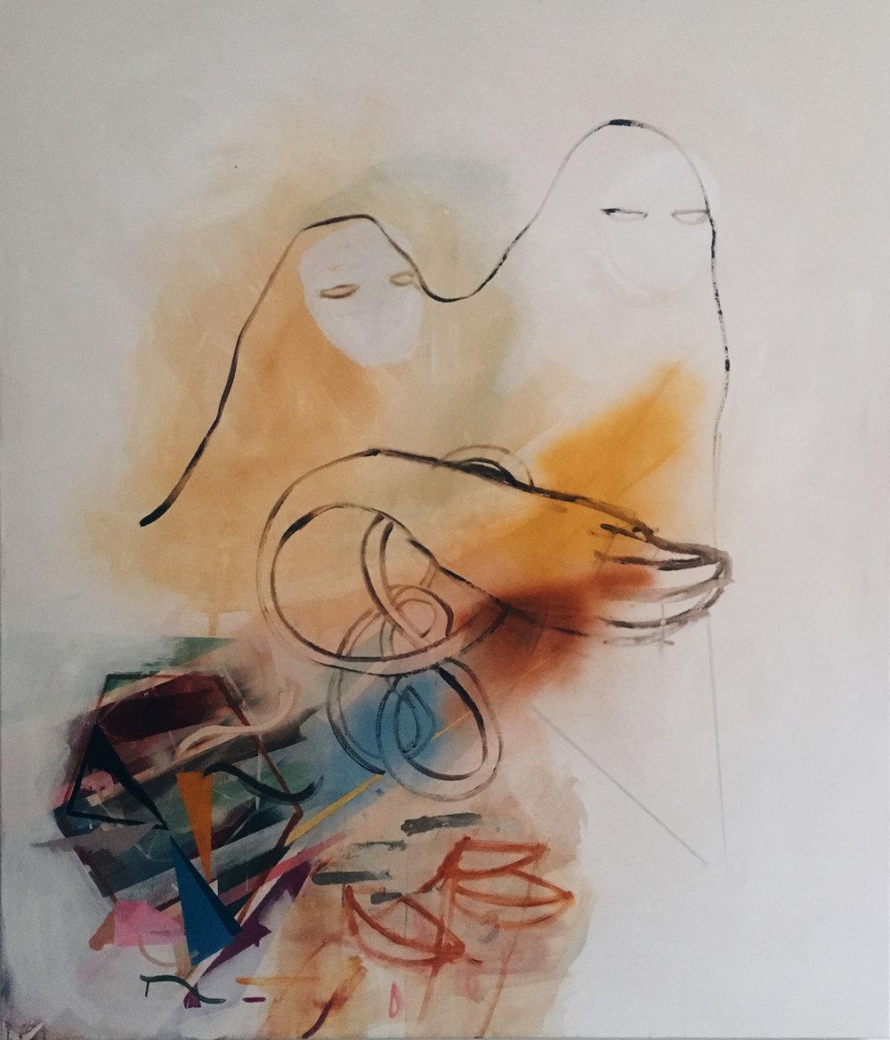 SHIN SHIN  (150x175cm)