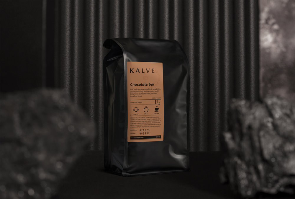 KALVE brand - It takes a bit more than just a great cup of coffee to make your guests feel happy, that's why when you become our wholesale partner, we do a lot more than just delivering coffee. We ensure top-notch barista training, free delivery of goods, tailor-made bar improvements as well as regular quality controls to ensure you are happy with your cooperation.