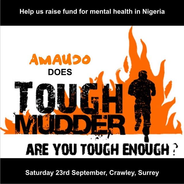 Only 3 days to go until @tough_mudder - have you sponsored our team yet? #nigeria #mentalhealth mydonate.bt.com/events/amaudodoestoughmudder
