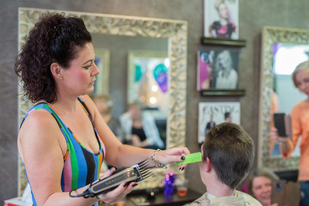 Jackie Lancaster Brave the Shave Social Media Res Photo credit Vic McLeod - Phoenix Media Mallorca-8260.JPG