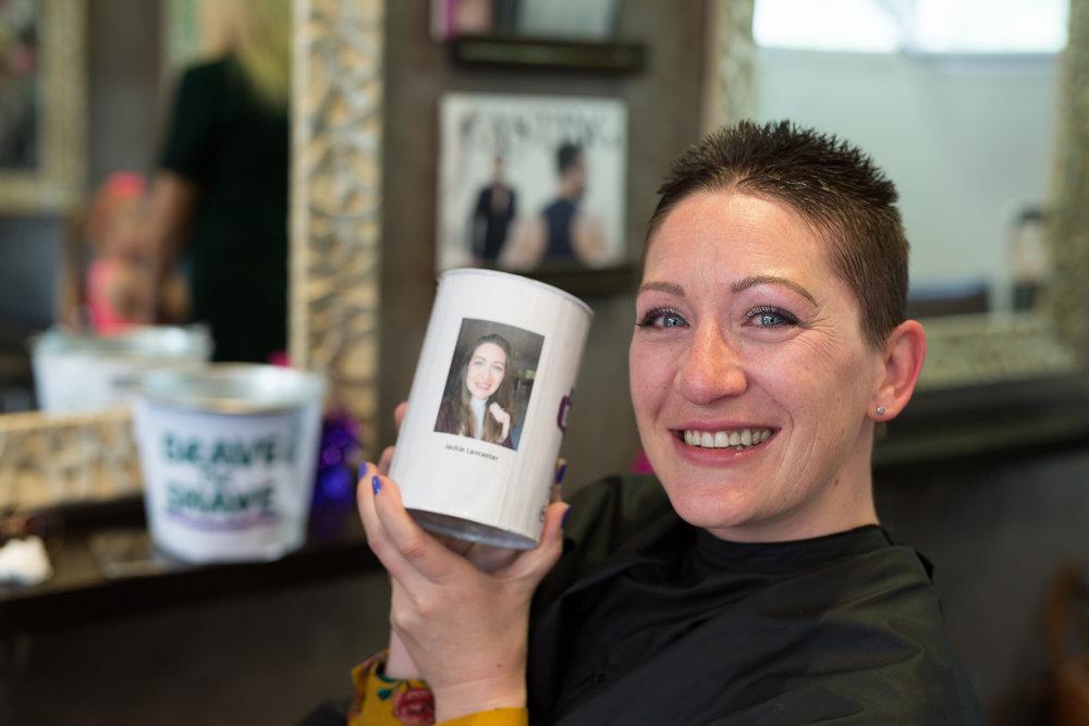 Jackie Lancaster Brave the Shave Social Media Res Photo credit Vic McLeod - Phoenix Media Mallorca-8682.JPG