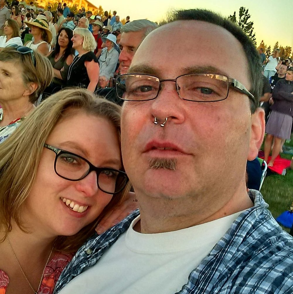 Matt & Deborah Couzens at The Les Schwab Amphitheater-Paul Simon 6/24/17