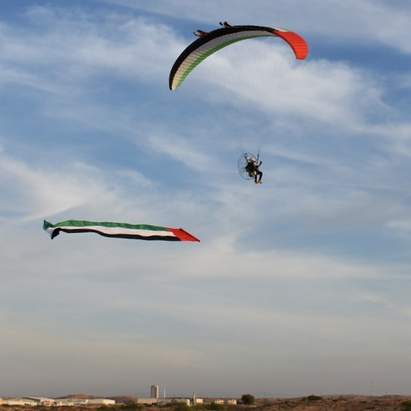 Happy 47th National Day to our UAE 🇦🇪 friends #uae #nationalday #skyopsx #skyschool #skyschooluk #skyweek  #paramotoring #paragliding #learn2fly #fun #fly #paramotor #aerialexperience #comeflywithus #parajet #ozoneparamotors #adventure #adventureculture #discoverearth #ourplanetdaily #travel #instatravel #instagood #photooftheday #picoftheday #instapassport #travelgram #igtravel #adventuretravel