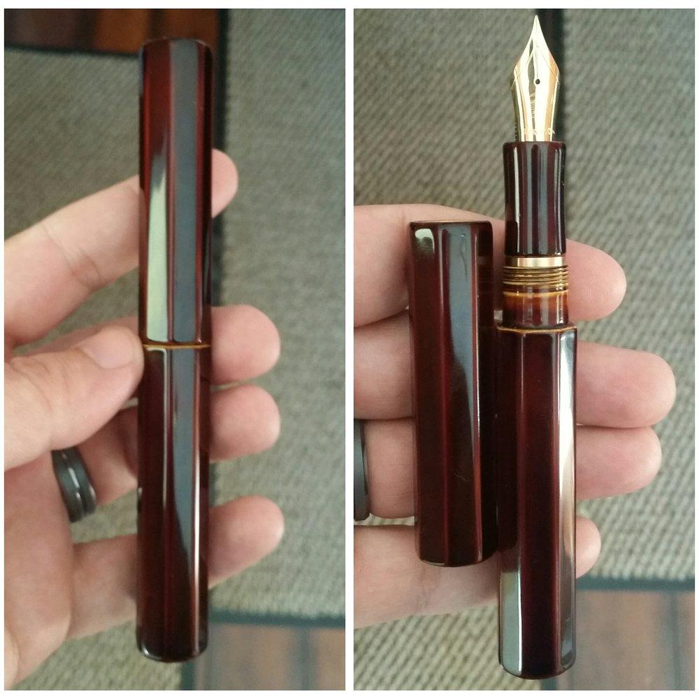 Newton Pens Vapor - Shiro Tamenuri