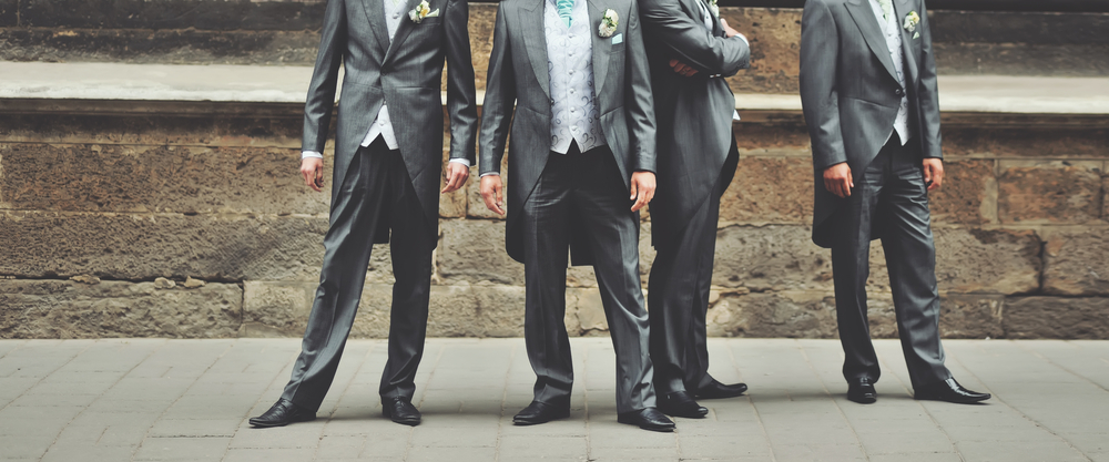 tell guests about the - groomsmen