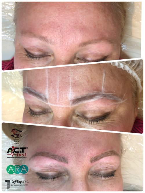 Microblading Semipermanent Makeup Bleebeautiful