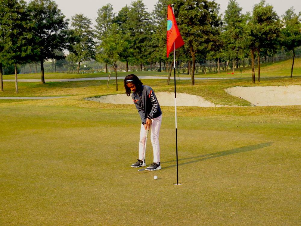 Zara Golfing.JPG