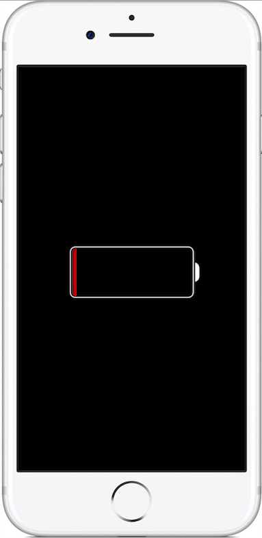 The charging screen