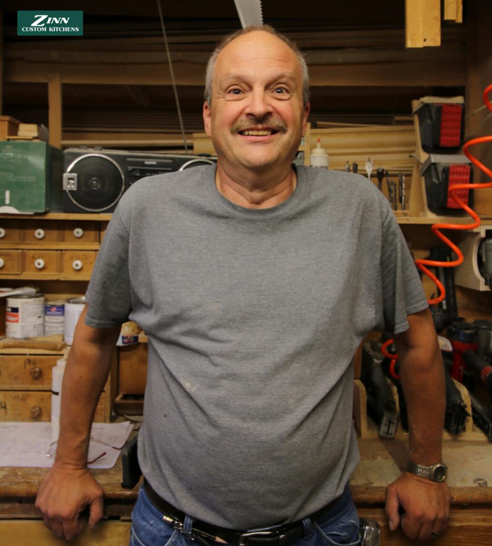 John - One of our longer tenured members in the plant, John is in our building department and focuses on custom hoods, lazy susans, and other specialty cabinets.