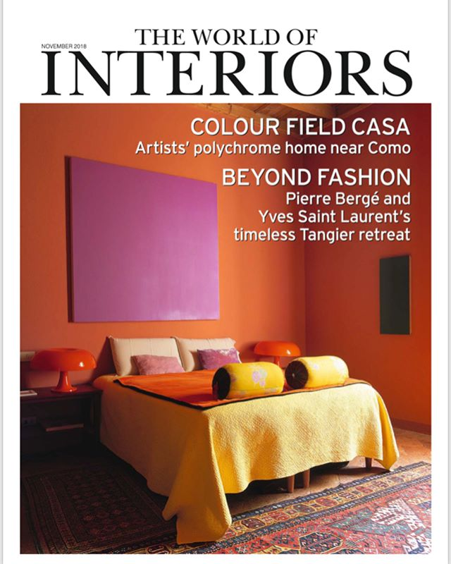 @oandgstudio's contemporary classics in @theworldofinteriors