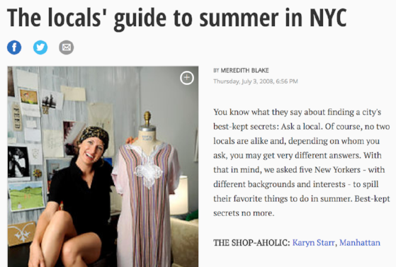 NY DAILY NEWS  Locals guide to summer in NYC