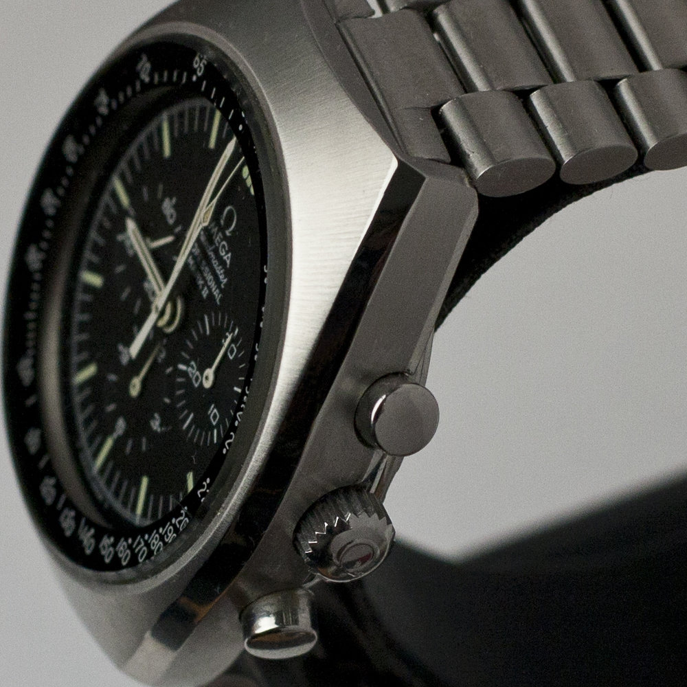 After our watchmakers at AMJ Watch Services had finished serving this OMEGA Watch.