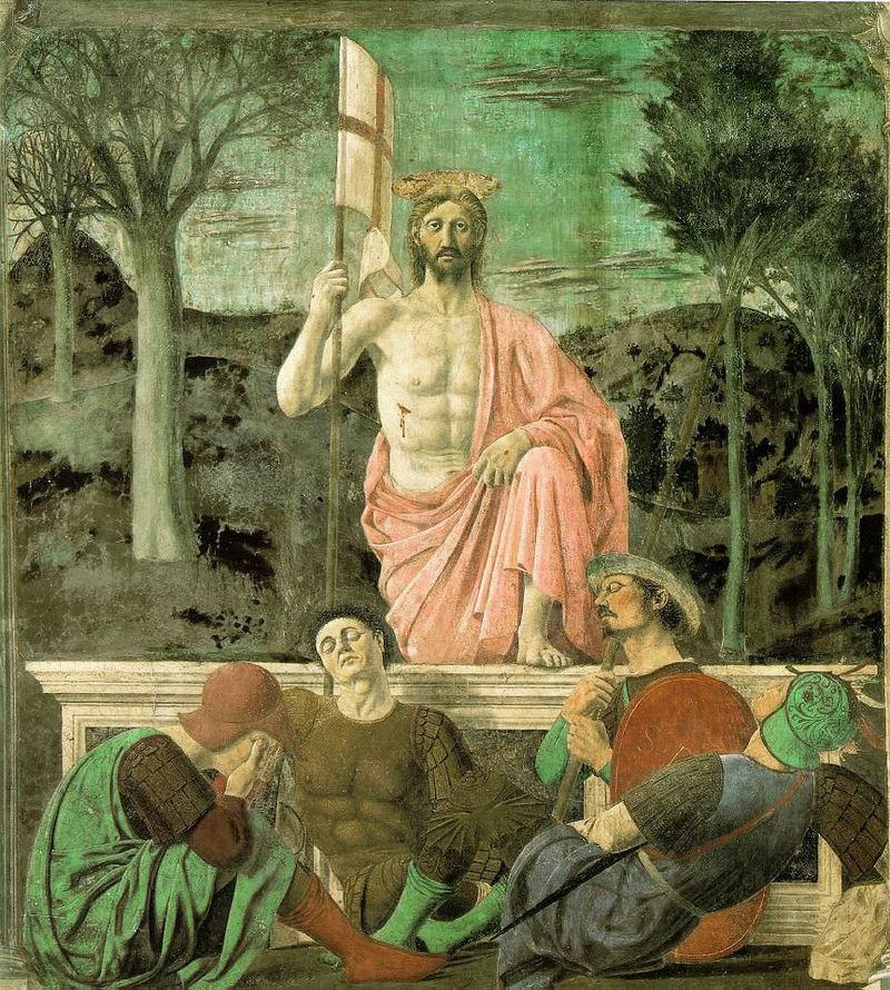 Piero della Francesca's  The Resurrection