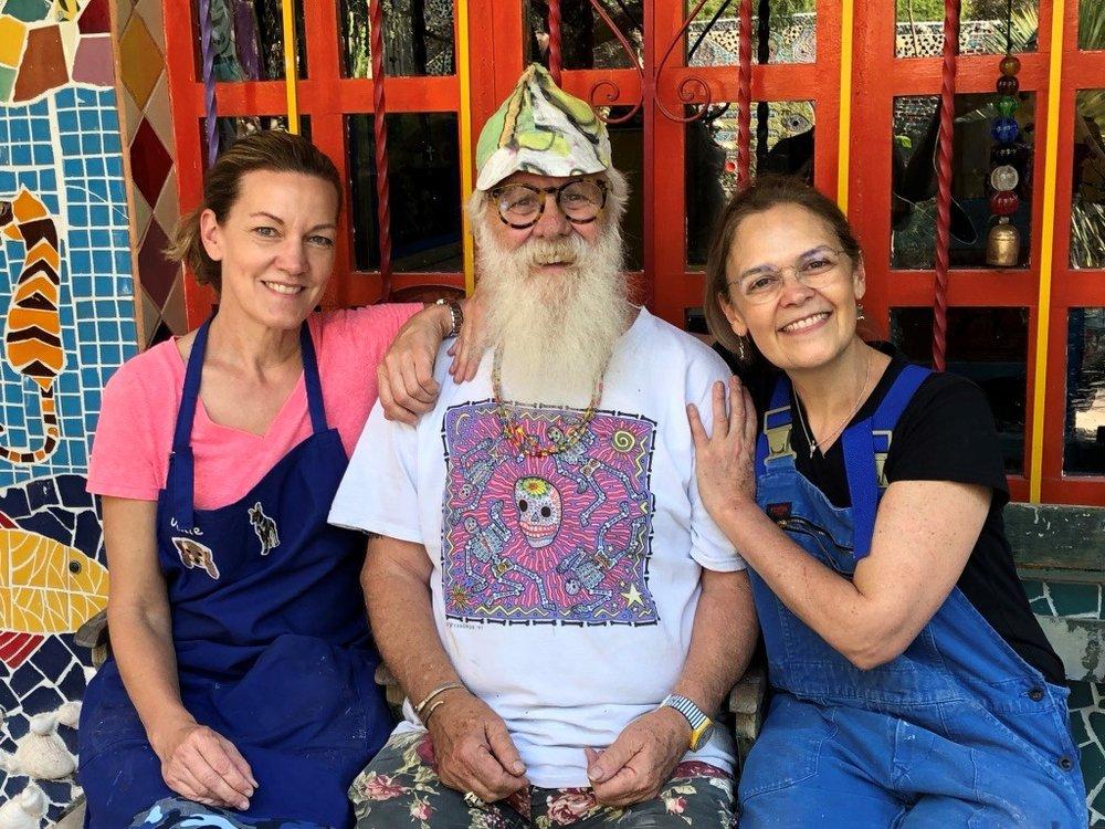 Julie Richey, Anado McLauchlin & Ana Forcerrada