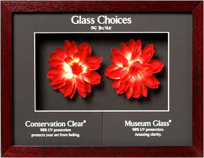picture framing conservation and museum glass