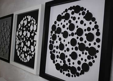 bubble spot art