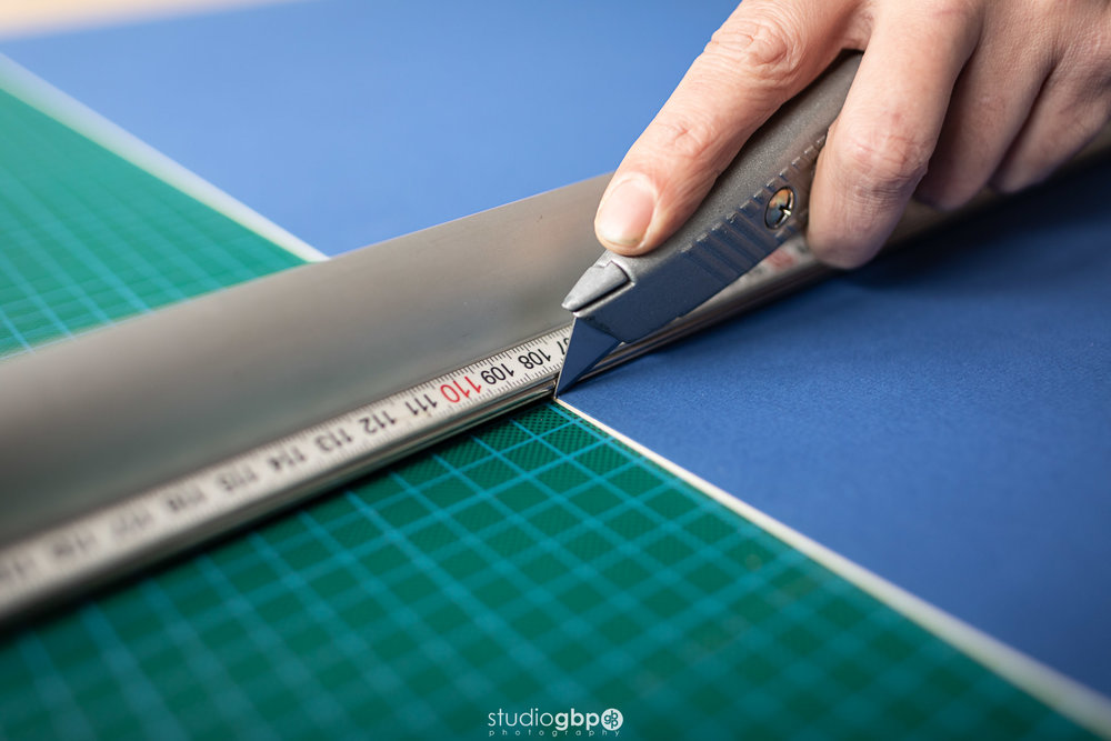picture framing mountboard cutting
