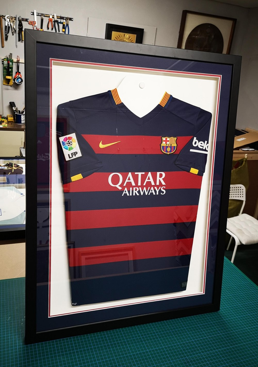 rugby shirt framing