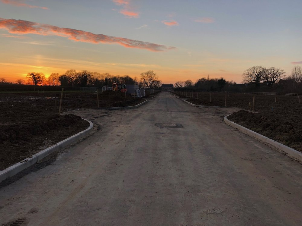 All infrastructure complete and the site is ready to roll - Jan 2019